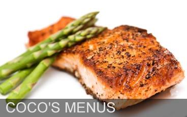 cocos restaurant menus