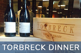 Torbreck Barossa Valley Wine Dinner